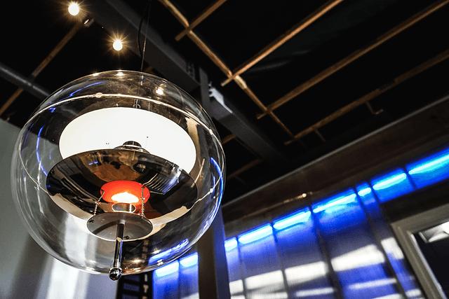 LED šviestuvai namų interjere